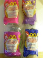 Mcdonalds Toy Collectable Power Rangers Rescue 3,4,9,10