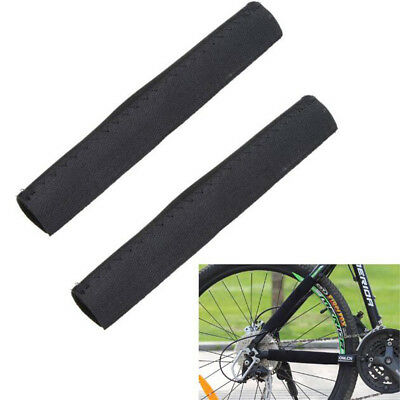 21*10cm Bike Chian Frame Protector Cycling Frame Chain Stay Posted Protector