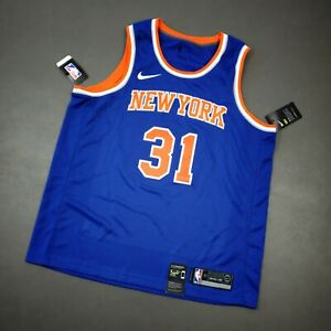 Details about 100% Authentic Ron Baker Nike Knicks Icon Swingman Jersey Size 52 XL Mens