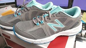 New-in-Box-Girls-New-Balence-Sneakers-Womens-size-7-WX770GR2