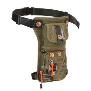 e15e9d58b93a Details about Men Motorcycle Waterproof Drop Leg Bag Tactical Hip Thigh  Waist Fanny Pack