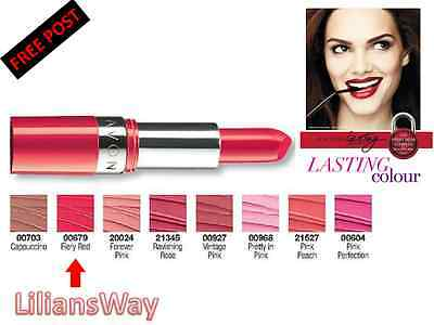 AVON EXTRALASTING LIPSTICK~LASTS UP TO 8HRS~VARIOUS SHADES~SALE