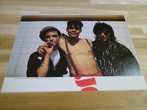David-Johansen-amp-Syl-Sylvain-amp-Johnny-Thunders-Mini-Poster-Colorati