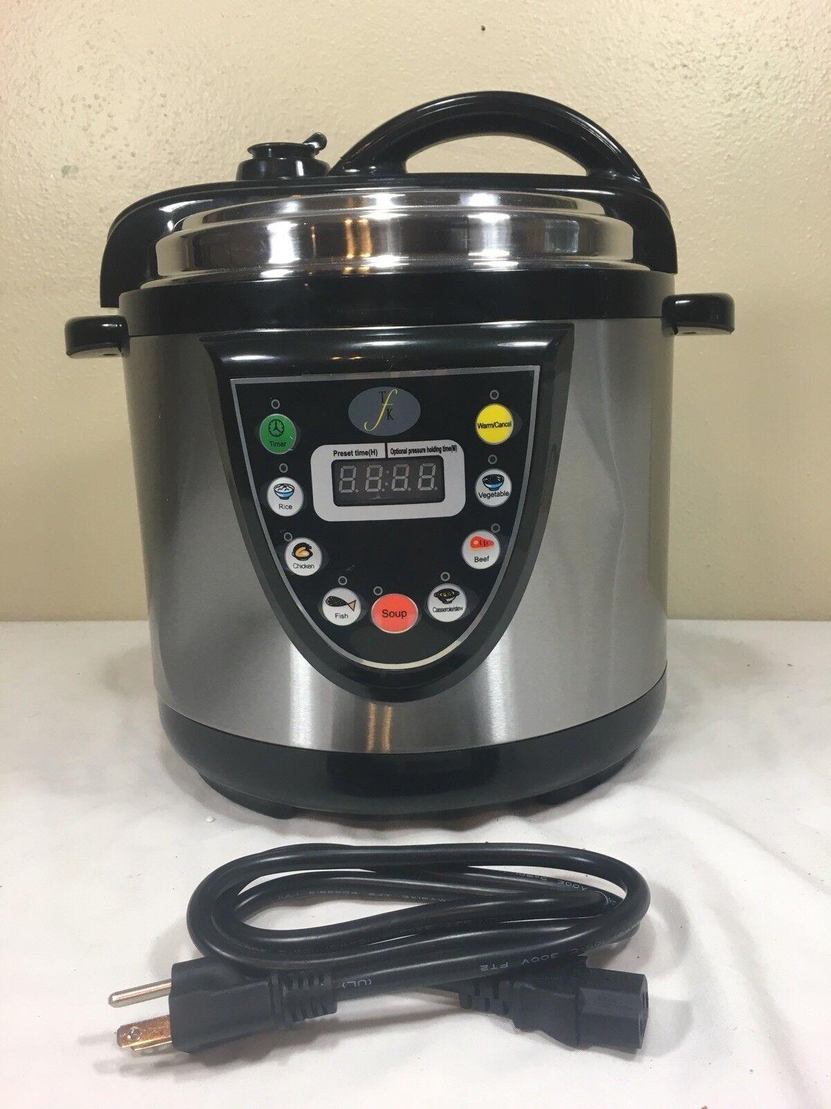 Berghoff Electric Pressure Cooker 6.3 Qt. New Open Box L