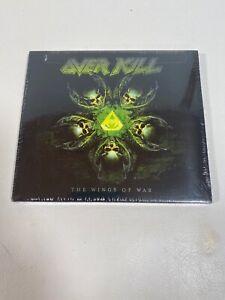 OVERKILL-WINGS-OF-WAR-US-IMPORT-CD-NEW-Bonus-Track