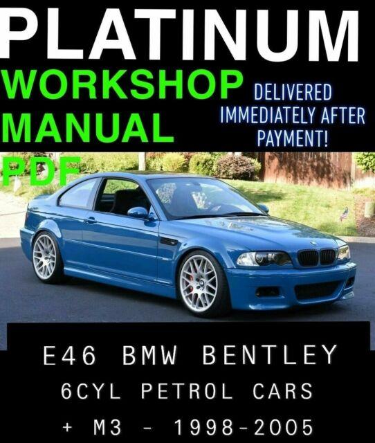 Bmw E46 Service Manual 99