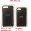 New-Genuine-Apple-iPhone-8-Plus-7-Plus-amp-iPhone-7-8-Leather-Case-Black thumbnail 1