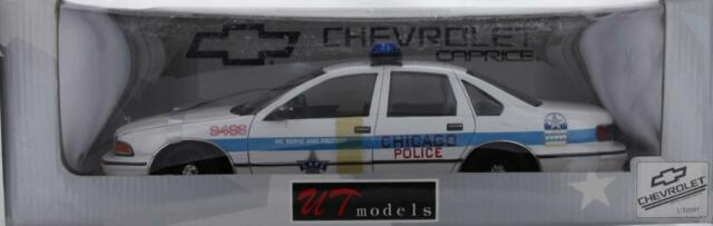 UT Models 1 18 Scale Chevrolet Caprice Chicago Police Car