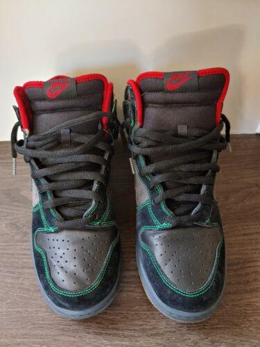 "Nike SB Dunk High Premium ""TWIN PEAKS"" Size 11.5"
