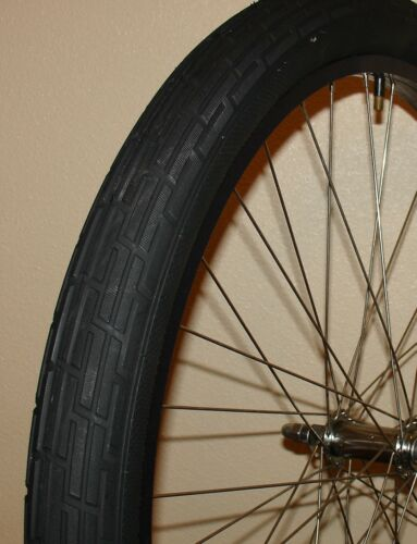 "Bicycle Tire 26 x 2.35/"" Black Deli Fat Slick Beach Cruiser Chopper Vintage"