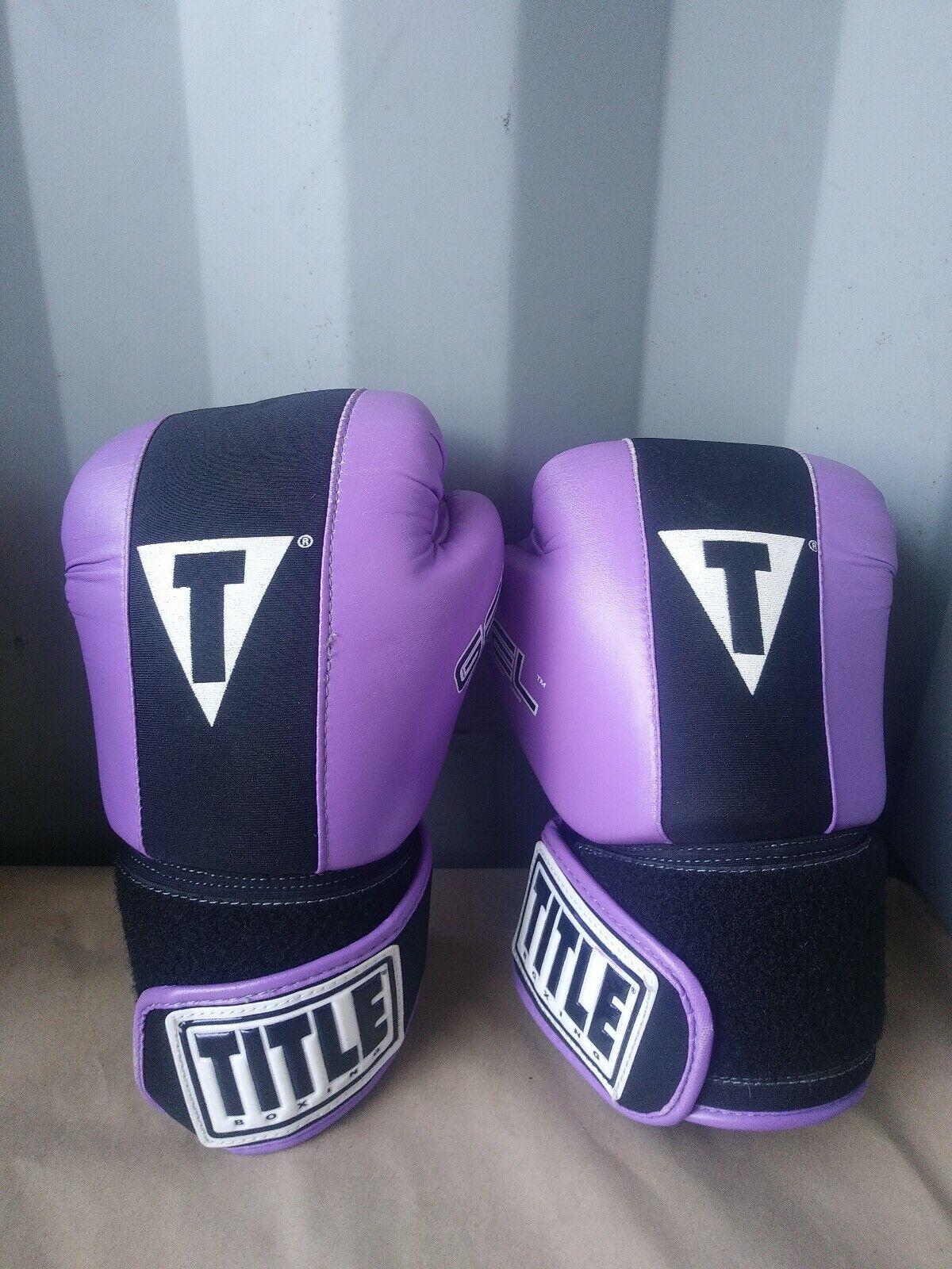 Title  Boxing Gel World Bag Adult Boxing G s Purple Size  M (read desc. Pls )  factory outlet online discount sale