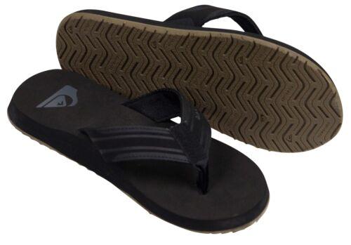 Black//Gray//Tan Quiksilver Mens Monkey Wrench Sandals