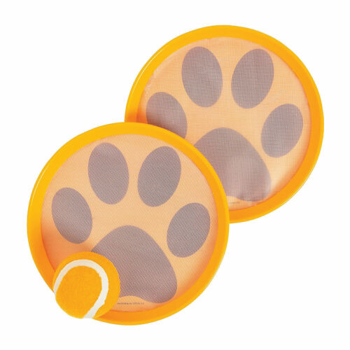 9 Pieces Paw Toss /& Catch Ball Games Toys