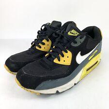 Nike Air Max 90 EM 554719 114 White Black Laser Blue Infrared Sz 11