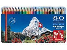 Caran D'ache Prismalo Watercolour Pencil 80 Colour Tin