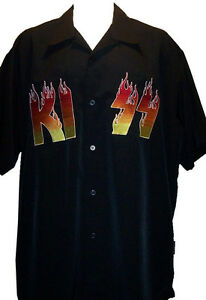 con Dragonfly Flaming club de Nueva logo camiseta Kiss de CnU7qcwgtH