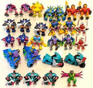 CHOOSE-Vintage-1992-1994-Z-Bots-Figures-Galoob-Vehicle-Drivers-amp-Revbots