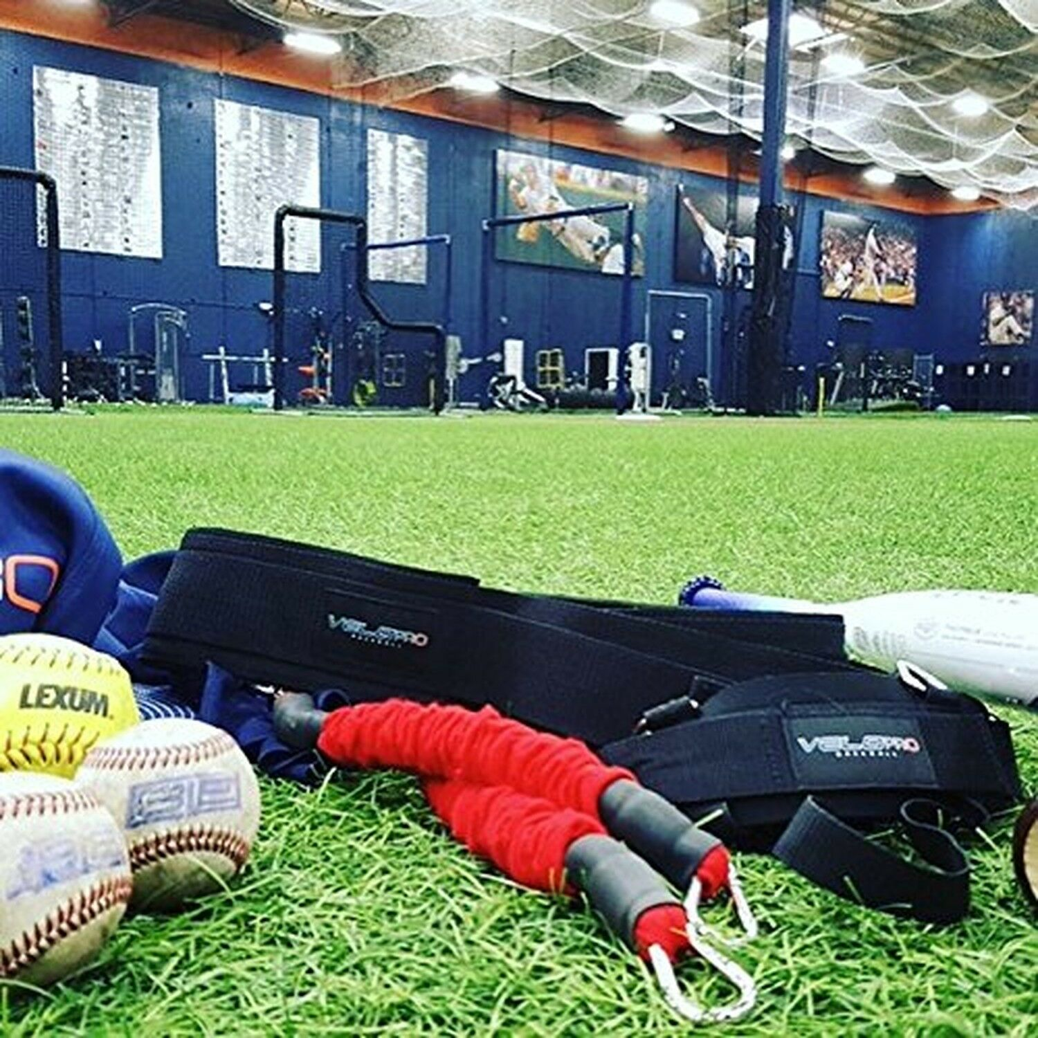 VeloPRO Baseball and Softball Movement Enhancement Training System including ...