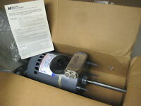 Magnetek 1/2hp Electric Motor 460/200-230v, 1ph, 1140 Rpm, 5/8 Shaft,