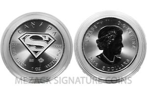 SUPERMAN-5-Canadian-1-oz-9999-Silver-in-capsule-Fee-Shipping