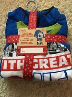 Disney Marvel Kid's 3 Pcs Set Pajamas And Jacket Size 5/6 Christmas Gift