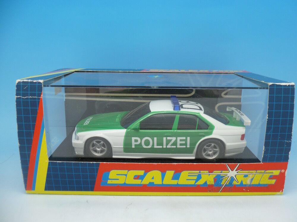 Scalextric C2121 Police Car BMW 320i, mint boxed