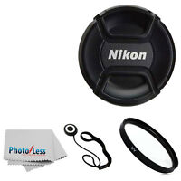 Genuine Nikon 52mm Front Lens Cap Lc52 For 55-200mm 50mm 18-55mm 35mm Lense + Uv on sale