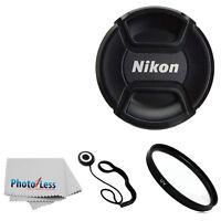 Genuine Nikon 52mm Front Lens Cap Lc52 For 55-200mm 50mm 18-55mm 35mm Lense + Uv