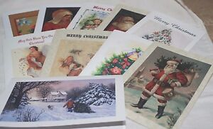 christmas cards 10 cards 10 different designs traditional design