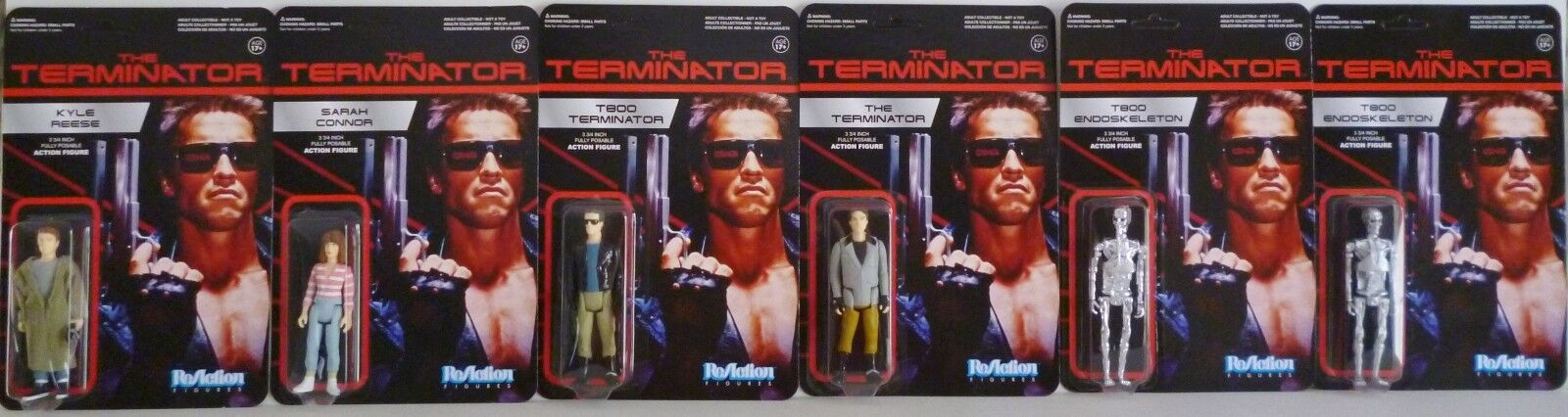 Der terminator 3 3   4  - posable reaktion retro - action - figur von 6 bis 2014