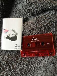 """SELENA GOMEZ - """"RARE"""" CASSETTE (RED) New"""