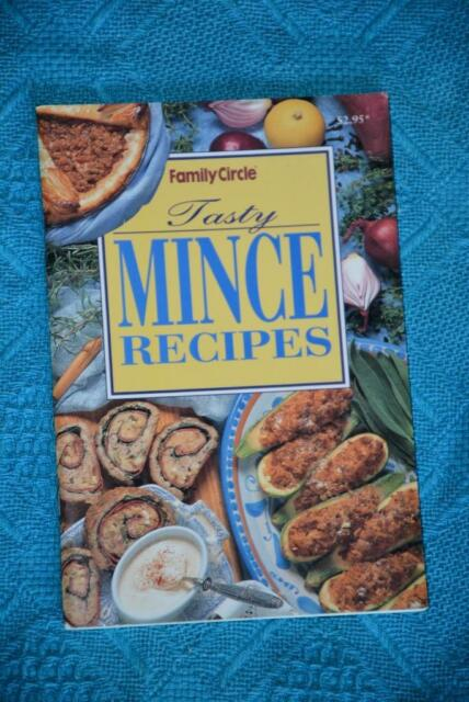 Family Circle~ TASTY Mince Recipes~RARE~ FAMILY or PARTY FOOD