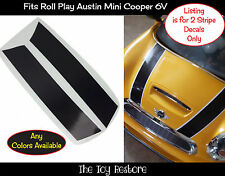 Spare Part Stickers Decals Replacement fits Rollplay Mini Cooper 6V hood Stripes