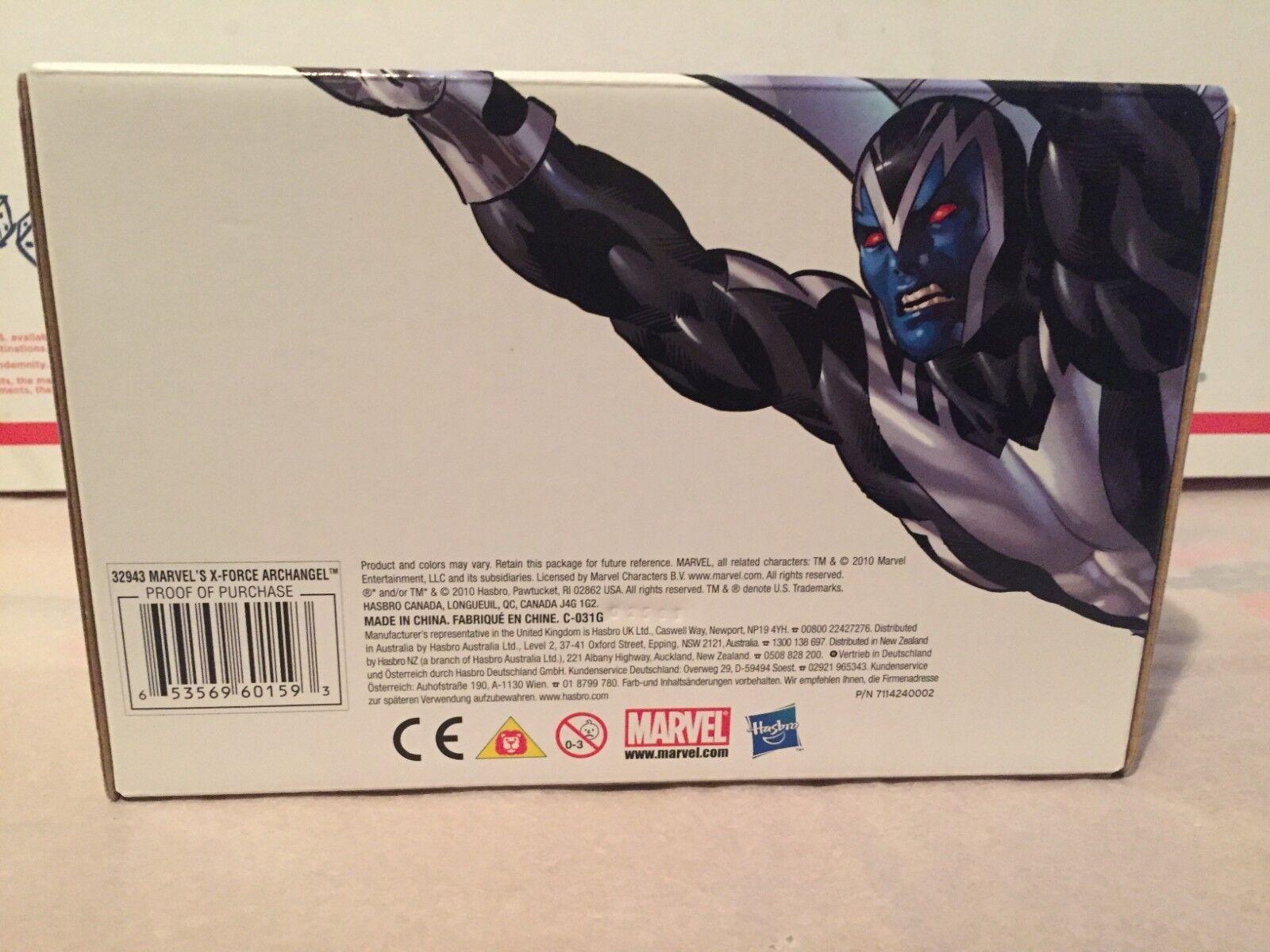 Hasbro 2010 nycc exklusive marvel - universum x - force erzengel variante misb