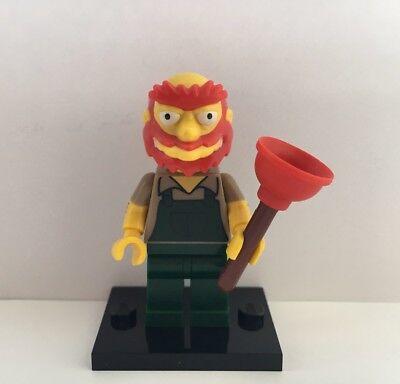 LEGO Simpsons Mini Figura SERIE 2 il giardiniere Willie