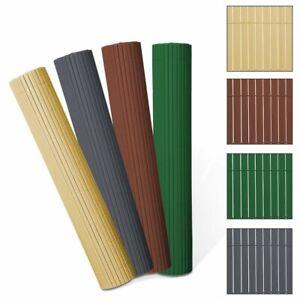 PVC-Sichtschutzmatte-Sichtschutzzaun-Zaun-Gartenzaun-Balkon-Zaun-Terrasse-Zaun