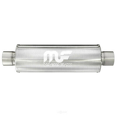 """4/"""" Body 2.25/"""" Inlet 2.25/"""" Outlet 14/"""" Body Length 20/"""" Exhaust Muffler Fits"""