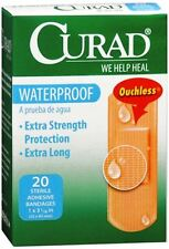 Curad Waterproof Bandages 1 X 3-1/4 Inches 20 Each