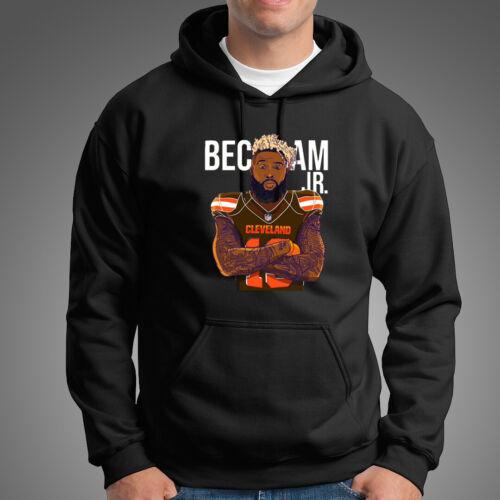 Odell Beckham Browns Men/'s Black Hoodie Clothing