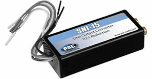Pac Sni 15 2 Channel Adjustable Line Output Converter 10 1 Reduction