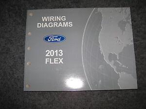 2013 ford flex wiring diagrams repair service manual image is loading 2013 ford flex wiring diagrams repair service manual