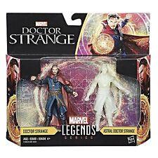 """HASBRO MARVEL LEGENDS 3.75"""" Dr. STRANGE & ASTRAL Dr. STRANGE 2 PACK FIGURE"""