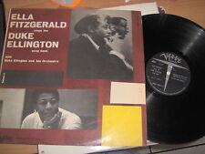 "LP 12"" ELLA FITZGERALD SINGS THE DUKE ELLINGTON SONG BOOK VOLUME 2 ITALY VG+"