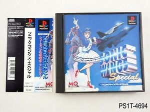 Sonic-Wings-Special-Playstation-1-Japanese-Import-PS1-JP-Japan-PS-US-Seller-B
