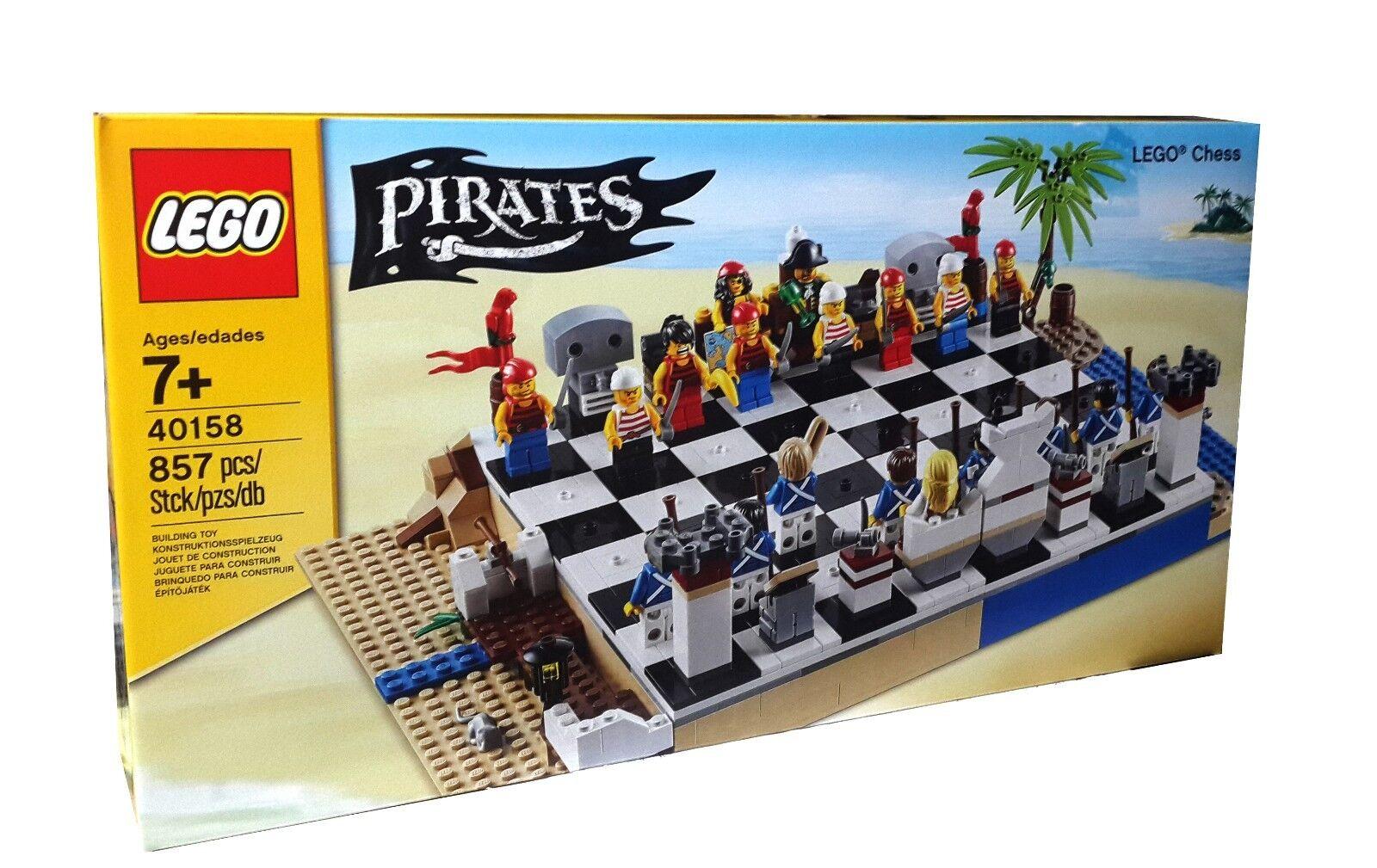 LEGO Pirate Series 40158 Lego Pirates Chess (New)