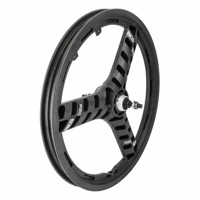 "ACS Stellar Mag 20/"" Rear Wheel 3 Spoke 3//8/"" Axle Black"