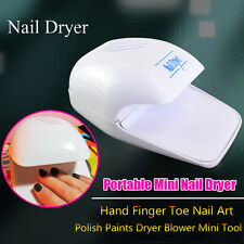 Portable DIY Hand Finger Toe Nail Art Tips Polish Paints Dryer Blower Mini Tool