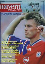 Programm 1993/94 FC Bayern München - Borussia Dortmund
