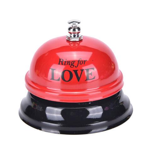 AnrCRH Schreibtisch Küche Hotelschalter Rezeption Glocke Bar Ring für Service