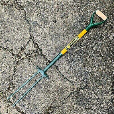 Bulldog Smith /& Hawken 4 Prong Garden Digging Fork Made in England
